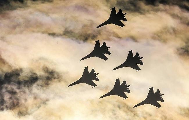 Rusia conserva el 2do lugar del mundo en aviones de combate en servicio
