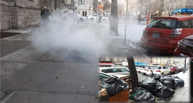 Pestilencia, ratas, humaredas y acumulación de basura afectan sectores del Alto Manhattan